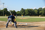 Pony League Game Action